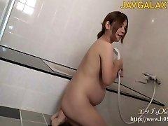 Gorgeous Pregnant Japanese MILF - Part 1