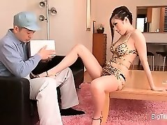 Smoking super hot Chinese housewife seducing part3
