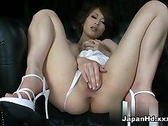 Noro pornstar Saki Ootsuka v Najboljši Solo Dekle, Dildos/Igrače porno posnetek