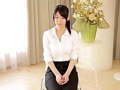 Egzotiškas Japonų apskretėlė Asuka Takao Nuostabi dideli papai, solo girl JAV filmo