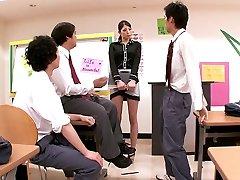 Adoring Schoolteacher
