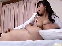Japanese doctor is horny for hard-on