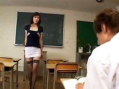 Mischievous japanese lecturer - uncensored