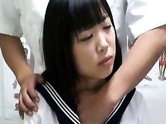 Spycam Schoolgirl orgasm Massage 1