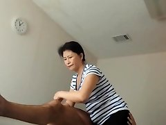 asian milf happy completing