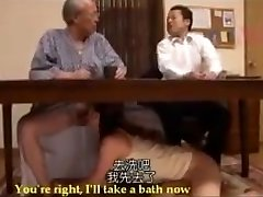 Nadržený Japonské Krok Dcera