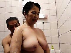 Hairy Pussy Japanese Grannie Michiko Okawa