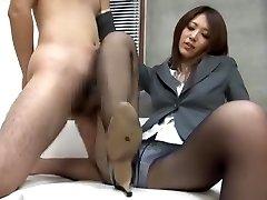 Incredible Japanese model Riko Miyase in Super-naughty Fetish, Foot Job/Ashifechi JAV pinch