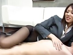 Incredible Japanese model Riko Miyase in Super-naughty Fetish, Foot Job/Ashifechi JAV pinch
