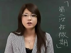 Erika Sato - Woman Schoolteacher Nakadashi Ass-fuck Attack