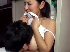 Hot japanese married neighbour taunting me