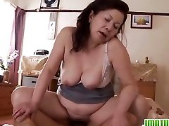 Mature Chizuru Moans Hard From A Firm Fuckin