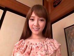 Subtitled Chinese AV star Rei Mizuna striptease to bareness