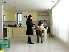 Asian Schoolgirl Makes Teacher Lesbian Pet Part Ten