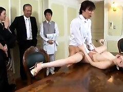 Big boobs slut lovemaking in public
