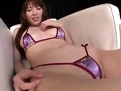 Japanese nubile Hi Mikity sexy pussy play
