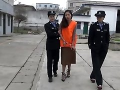 asian woman at jail part3