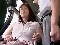 Masturbacija Ant AUTOBUSŲ