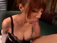 Horny Asian chick Tsubasa Amami in Amazing Handjobs, Blowjob JAV video