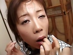 Best Asian girl in Crazy JAV uncensored Bj video