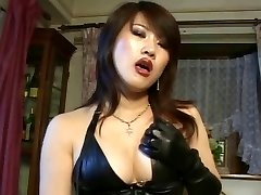 Japanese strapon dominatrix