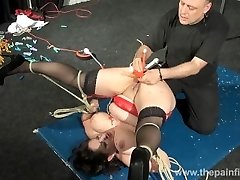 Enslaved milfs puss hot waxing and extraordinary bbw bdsm of amateur slavegirl