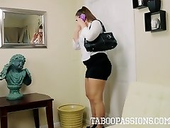 Taboo Passions - MILF Mom Madsin Lee gets Facial Cumshot