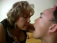 French Mature Mistress and her Marionette