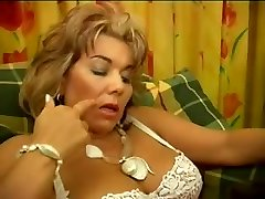 french hairy mature femdom and young gimp oral pleasure