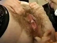 Fur Covered Girl-girl mature fisting