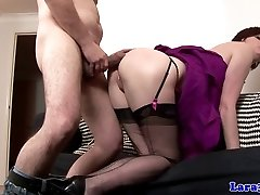 Euro softcore mature doggystyle plowed