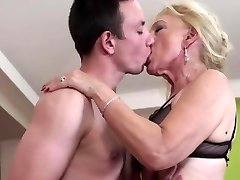 NastyPlace.org - Older grandma plays with young guy
