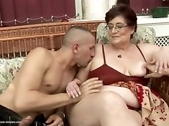 Nasty old and young couples at pissing gangbangs