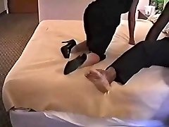 Hot Mature In Sexy High Heels Ravages BBC