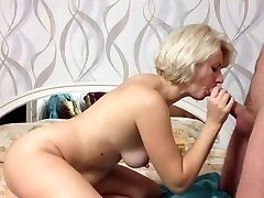 homemade, stunning mature couple in a red-hot clip