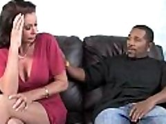 Horny mummy loves black monster man sausage 8