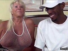 72 yr old Grandma Craves Bbc