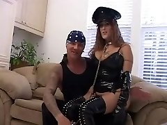 Busty Mature in Spandex does Double Anal