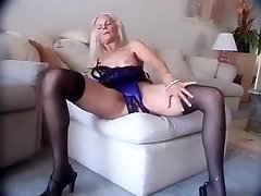 Incredible Amateur video with Doggy Style, Stockings sequences