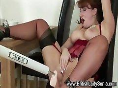Mature british superslut fetish machine screw