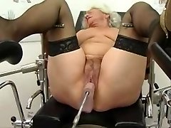 Grandma Norma Works out on a Fuck-fest Machine