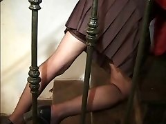 maid mature lady pussy and anal pulverize