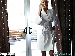 NuruMassage Son Completely Serviced by Step-Mother
