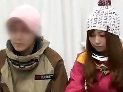 Best Japanese girl Anna Momoi, Nozomi Wakui in Best Massage, Girlfriend JAV video