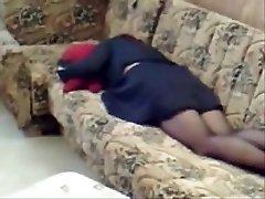 milf home alone jerking in living room. hidden cam