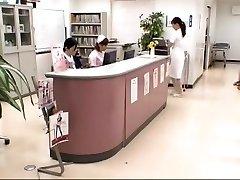 Hottest Japanese chick Mirei Yokoyama, Aya Kiriya, Emiri Momoka in Incredible Handjobs, Blowjob JAV episode