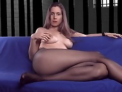 Pantyhose mother talking