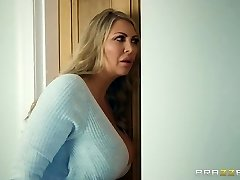 Brazzers - Mom and daughter-in-law and one lucky hard-on