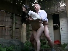 Asian Mature outdoor
