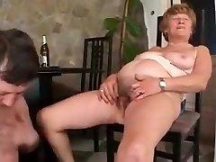 Grandmas urinate